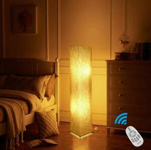 RGB Floor Lamp Remote Control 2 Colour Bulbs Christmas Party Living Room Bedroom