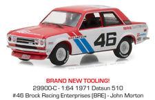 Greenlight 1/64 Tokyo Torque Series 2 1971 Datsun 510 BRE John Morton #46 29900