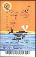 Brazil 2002 Whales/Marine/Nature/Wildlife/Conservation/Environment 1v m/s s3281