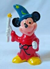 Vintage Walt Disney Productions Mickey Mouse Fantasia Wizard Candle Pvc Figure