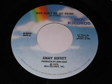 Jinny Buffett: Why Don't We Get Drunk / The Great Filling Station Holdup 45
