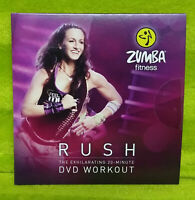 Zumba Fitness Exhilarate Replacement RUSH The Exhilarating 20 minute DVD Workout