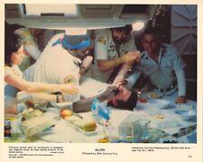 ALIEN PRESSBOOK STILL- 8x10 RIDLEY SCOTT, SIGOURNEY WEAVER CHESTBURSTER!