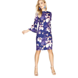 Paper Dolls - Fontaine Fluted Cuff Dress - Size UK18 , BNWT