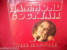WILL HORWELL Hammond Cocktail LP ITALY 1969 MINT- Sexy Cover