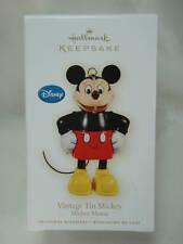 2009 Hallmark Vintage Tin Mickey Mouse