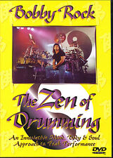 Bobby Rock The Zen Of Drumming Drum Tutor Lesson DVD
