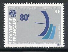 STAMP / TIMBRE POLYNESIE PA N° 126 **  TELECOMMUNICATIONS COTE 7,10 €