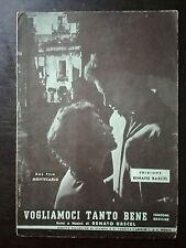 SPARTITO MUSICALE VOGLIAMOCI TANTO BENE RENATO RASCEL FILM MONTECARLO