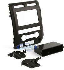 Scosche FD1442B Single/Double DIN Install Dash Kit for Select 2009-12 Ford F-150
