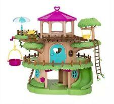 Li'l Woodzeez Family Treehouse with Crank Elevator – 22pc Playset * New Other *