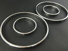 BMW E39 5 Series Silver Cluster gauge Dashboard rings speedo  UK Seller