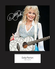 DOLLY PARTON #2 Signed Photo Print 10x8 Mounted Photo Print - FREE DELIVERY