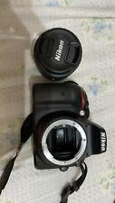 Nikon D5300 Digital SLR DSLR Camera 4 Lens 18-55mm 32gb Kit & More