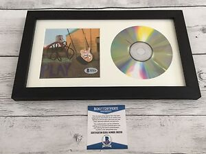 Country Brad Paisley Signed Play CD Cover Framed Beckett BAS COA Autographed b
