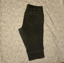 Lane Bryant Denim Stretch Plus Size 20 Capri Wide Hip Jeans