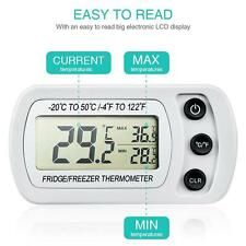 LCD Digital Thermometer Temperature Meter for Refrigerator Freezer -50°C ~ 20°C
