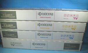 GENUINE KYOCERA TK-8517 TONER CARTRIDGE SET CMYK TK-8517C TK-8517M TK-8517Y