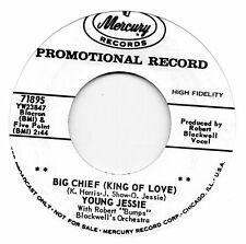 YOUNG JESSIE  BIG CHIEF(KING OF LOVE)/TEACHER GIMMIE BACK  MERCURY Re-Pro/Re-Iss
