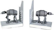 "STAR WARS ~ AT-AT Mini Bookends 6"" x 3.75"" x 5"" Polystone (Gentle Giant) #NEW"