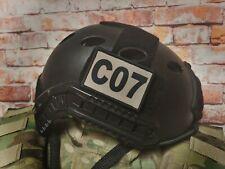 Custom 2x3 Callsign Patch Airsoft Milsim Police Army ODA Devgru SWAT