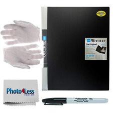 Itoya Art Profolio Book 9 x 12 + Anti-Static Gloves + Sharpie Marker + Cloth