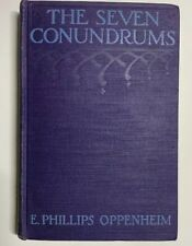 E Phillips OPPENHEIM / The Seven Conundrums 1923