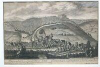 Kupferstich Foerrenbach  Land Pfleg Amt von Christoph Melchior Roth um 1760