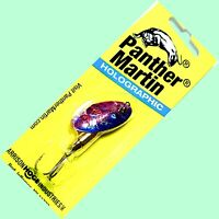 🌟 Panther Martin Holographic Purple & Blue 3/8 oz. In-Line Spinner #9-PMHD-PBH