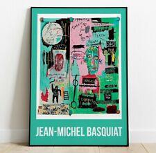 Jean-Michel Basquiat Wall Art, Wall Art, Pop Art, Home Decor