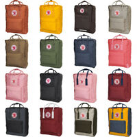 Fjallraven Kanken Unisex Classic Backpacks F23510 (All Colors) Brand New
