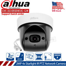 US Dahua 2MP DH-SD29204UE-GN PTZ Starlight 4x Zoom IR30m Outdoor IVS IP Camera