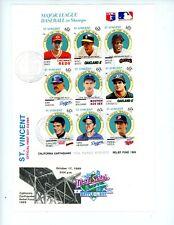 St. Vincent FDC Covers Scott # 1224, 1235, 1271 - Souvenir Sheets - CV=$15.00