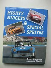 Mighty Midgets Special Sprites John Baggott Hardbound book Crowood 210pg English