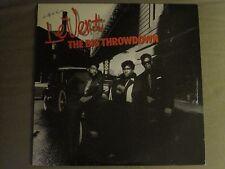 LEVERT THE BIG THROWDOWN LP '87 ATLANTIC SYNTH FUNK NEW JACK R&B MODERN SOUL VG+