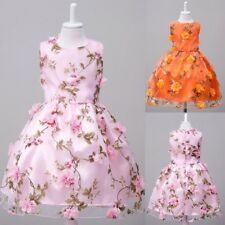 Flower Girl Kid Pageant  Formal Party Wedding Bridesmaid Princess Dress