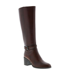 Geox Glynna D943CD043BCC0013 Womens Brown Leather Ankle & Booties Boots