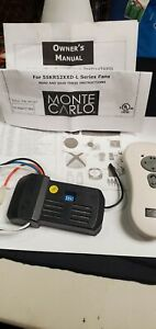 Monte Carlo Fan Company Reversible Hand-held Remote Control Kit - See Photos
