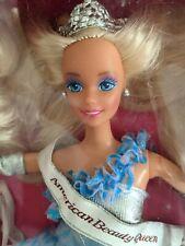 American Beauty Queen Barbie Doll Mattel Blonde 1991 * New In Box