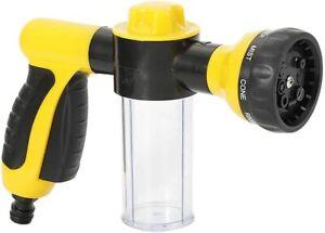 Foam Sprayer Garden Water Hose Foam Nozzle Soap Dispenser Gun for Car Washing