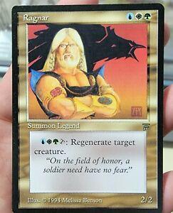 Vintage Magic | NM/MINT MTG Legends Ragnar, NO RESERVE!!!