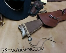 LEATHER BUTT STOCK COVER Western American Cowboy Action FITS WINCHESTER, MARLIN