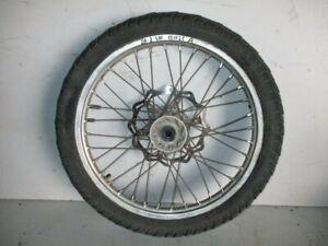 Ruota Anteriore Cerchio Disco Freno Freni Suzuki DR-Z 400 2000 2006 Front Wheel