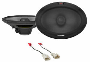 """Alpine R 6x9"""" Front Factory Speaker Replacement Kit For 2002-2006 Toyota Camry"""