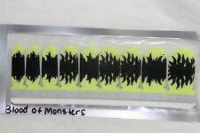 Nail Polish Strips (18 double ended) (new) BLOOD OF MONSTERS