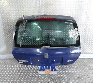 Heckklappe blau 460 Renault Clio II