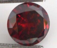 45.28 CT AAA Natural Garnet Zircon Diamonds Round Cut 20MM VVS Loose Gemstones