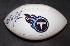 Marcus Mariota Autographed Signed Tennessee Titans Football Oregon Mariota COA