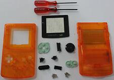 Austausch Ersatz Komplett Gehäuse für Gameboy Color / GBC Orange