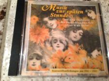 WILLI STECH: Musik zur späten Stunde (CD TMK 022673 / neu)